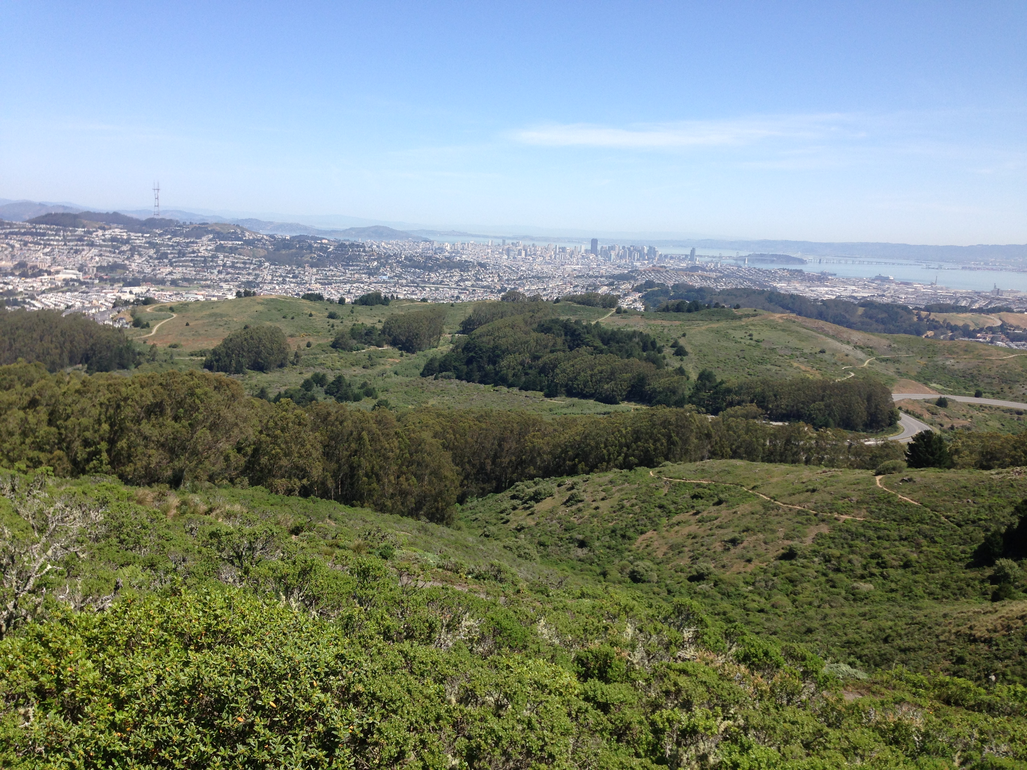 San Bruno Mountain Park Views