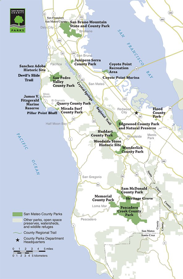 San Mateo County Parks