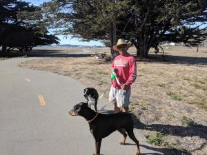 Mirada Surf's paved trail makes dog walks a breeze