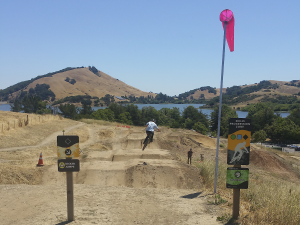 Stafford Lake Bike Park in Marin County